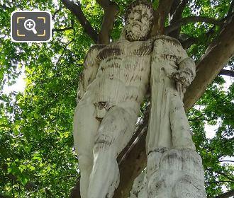 Hercule Farnese Statue By Sculptor Giovanni Comino