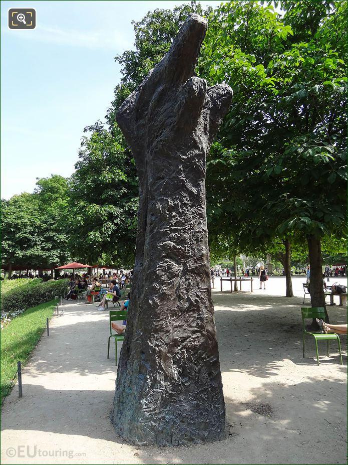 LHS Of Manus Ultimus Bronze Sculpture
