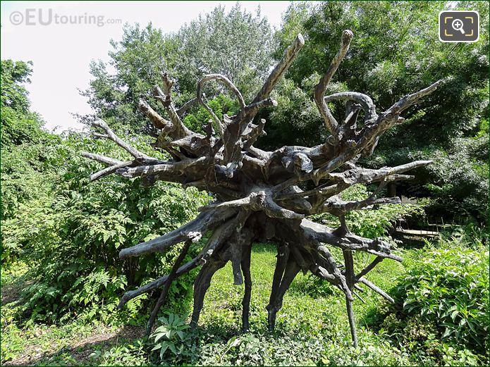 Tree Roots The Tree Of Vowels Sculpture Jardin Tuileries