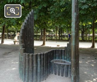 Modern Art Sculpture Confidence Jardin Des Tuileries