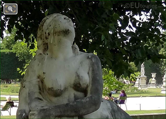 Close Up Photo Of Mort De Lais Statue
