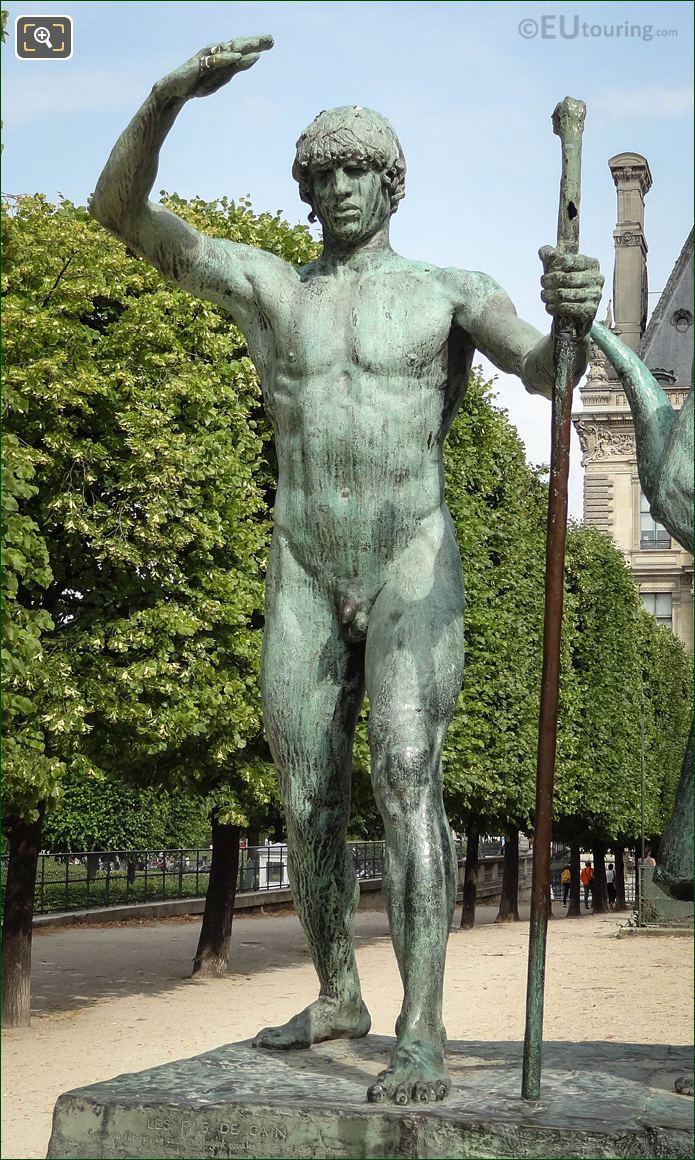 Jabal Statue From Les Fils De Cain Statue Group