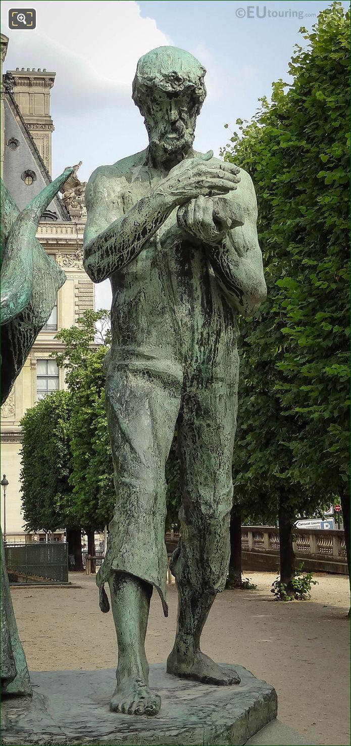 Tubal-Cain Statue From Les Fils De Cain Group