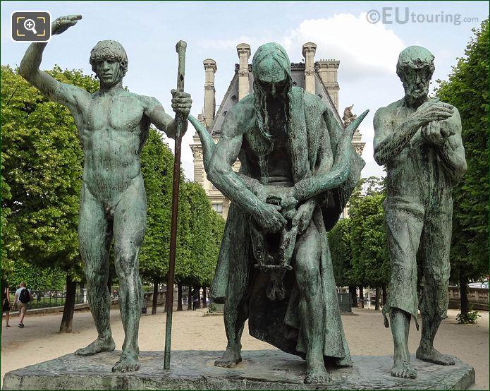 Les Fils De Cain Statues By Artist Paul Landowski