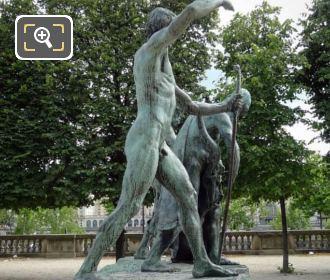 RHS Of Les Fils De Cain Statue Group