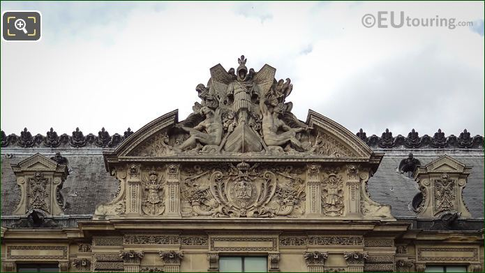 Pediment Sculpture By Theodore Gruyere