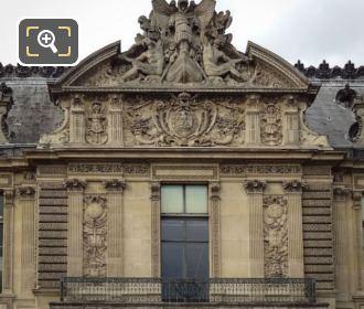 Pediment Sculpture On Grand Galerie Occidental
