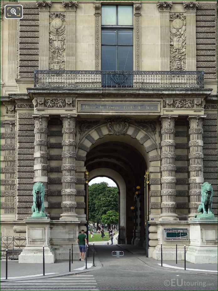 Lion Statues By Antoine Louis Barye