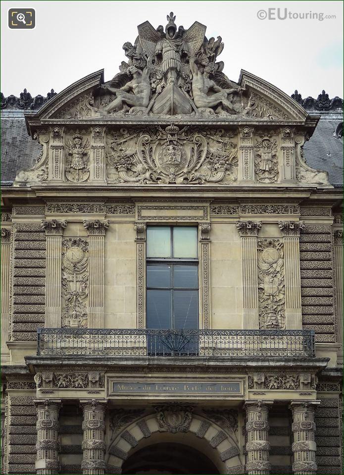Grand Galerie Occidental Pediment Sculpture