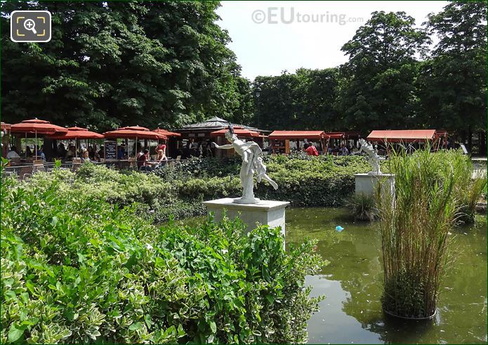 Jardin Des Tuileries Apollo Statue By Nicolas Coustou