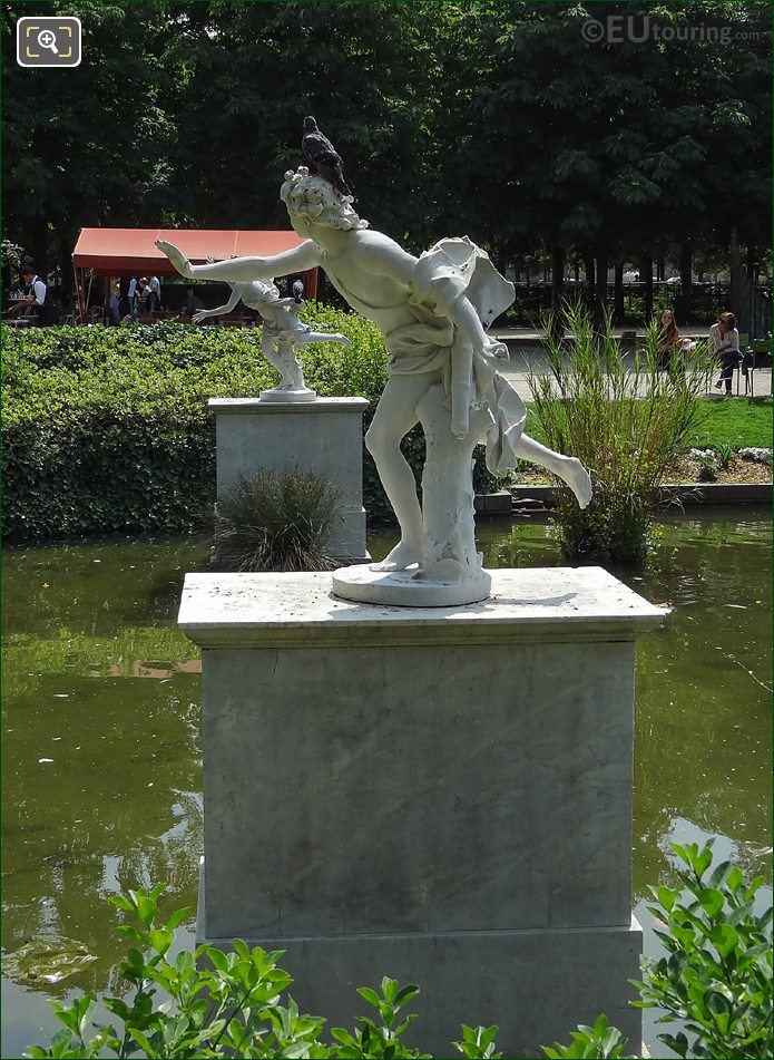 LHS Of Apollo Statue Jardin Des Tuileries