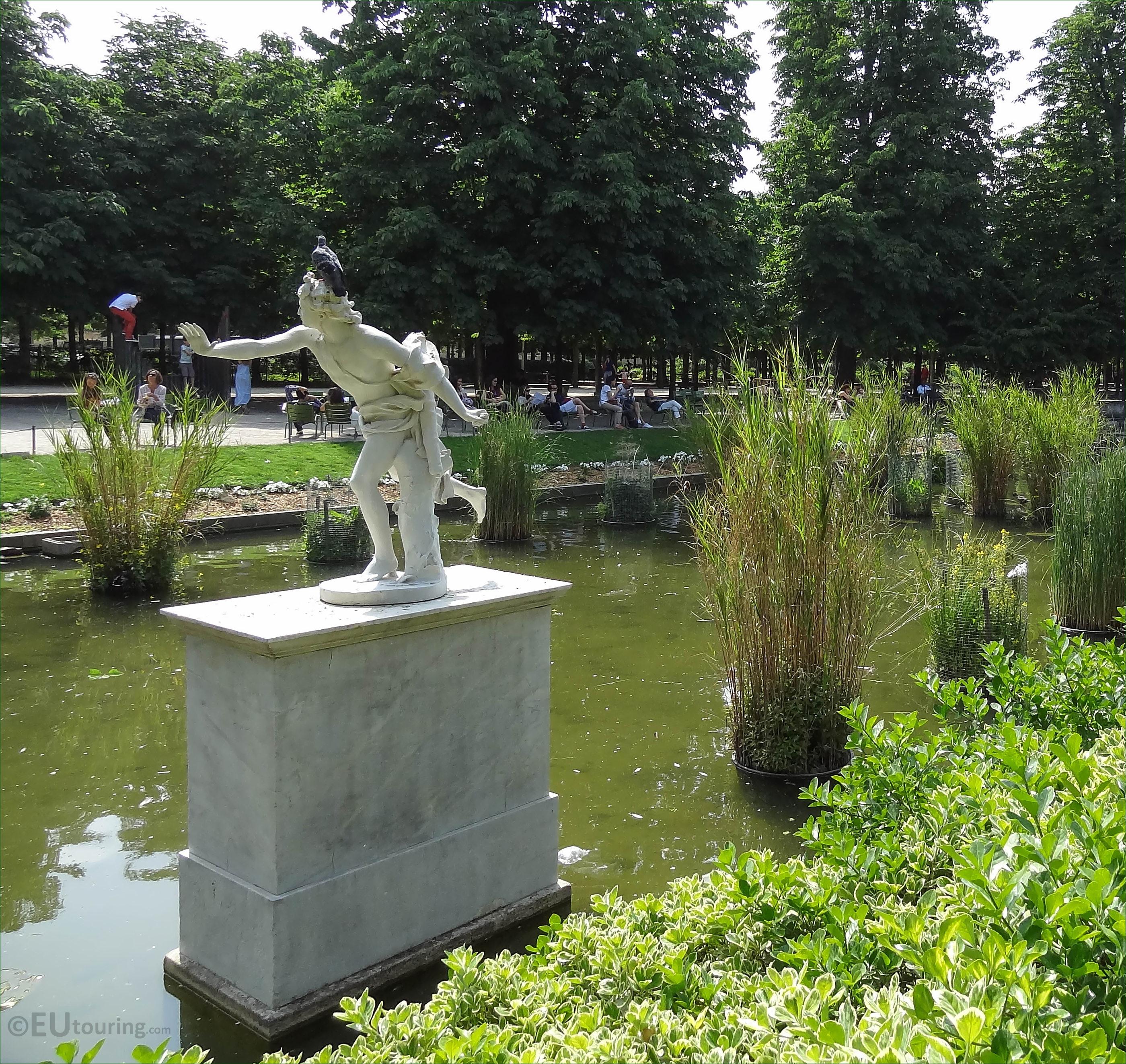 Photos of apollo statue in jardin des tuileries page 714 for Jardin des tuileries