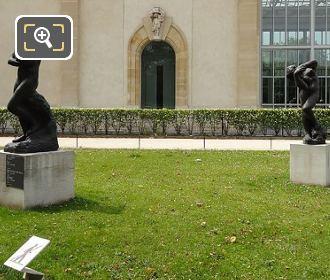 Tuileries Gardens Meditation Avec Bras Statue