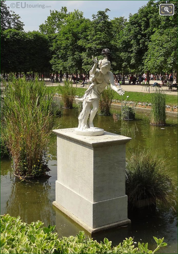 Front Of Daphne Statue In Jardin Des Tuileries