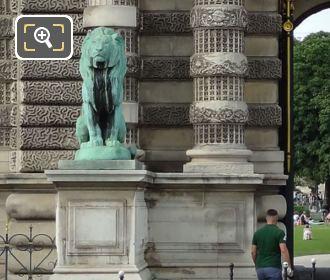 LHS Lion Statue Porte De Lions