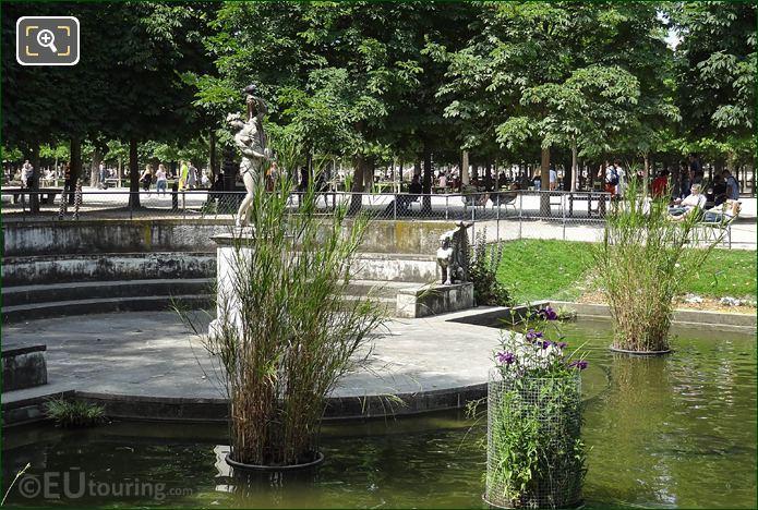 RHS Of Venus Callipyge Statue Tuileries Gardens