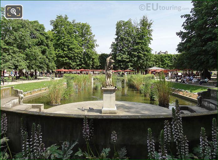 Venus Callipyge Statue Jardin Des Tuileries South Pond