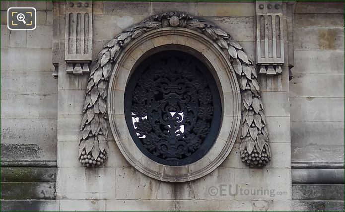 Black Cast Iron Window On Lille Gabriel Guardhouse