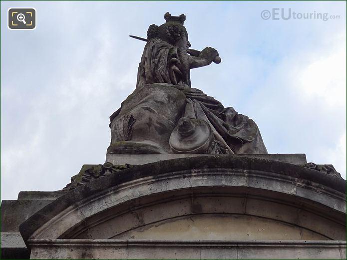 Place De La Concorde Statue Of Lille In 8th Arrondissement