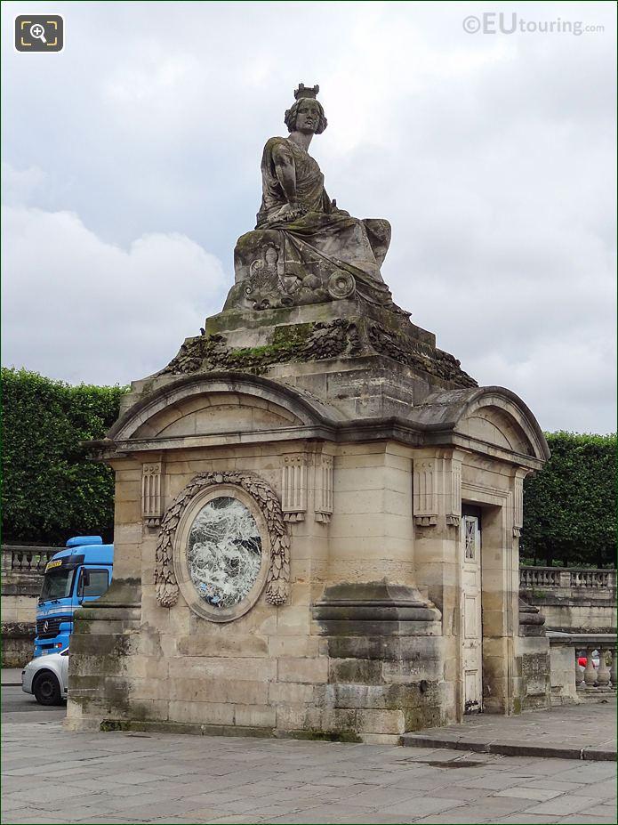 Statue Representing The City Of Strasbourg