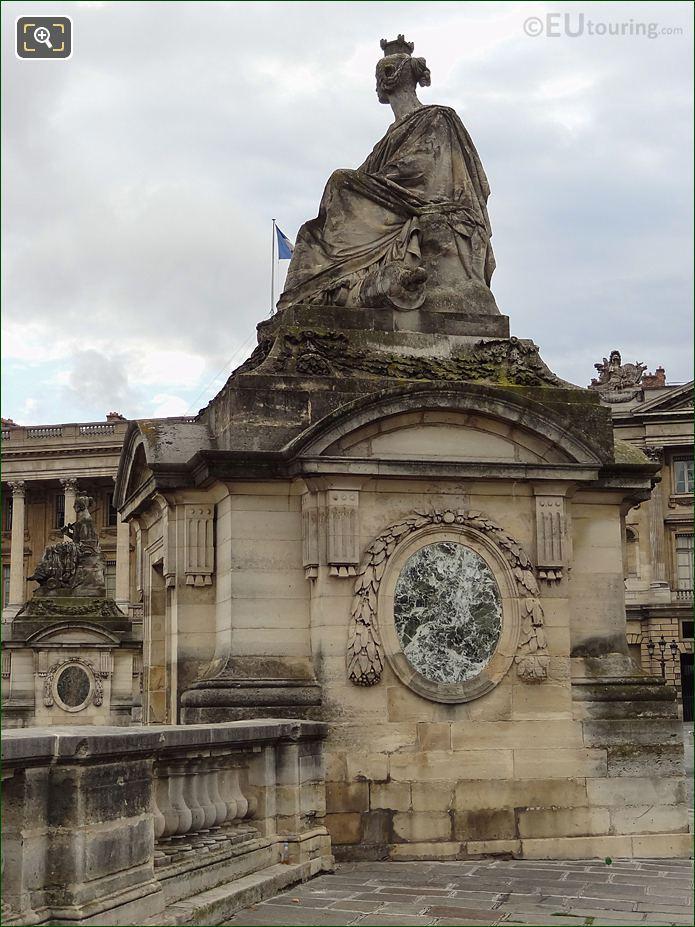 Strasbourg Statue By Sculptor James Pradier