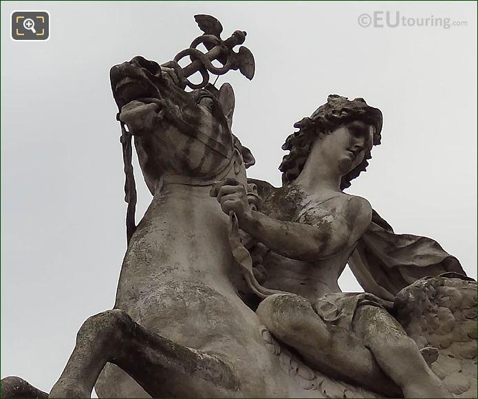LHS Of Mercure Monte Sur Pegase Statue