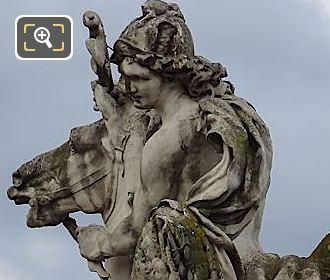 RHS Of Mercure Monte Sur Pegase Statue