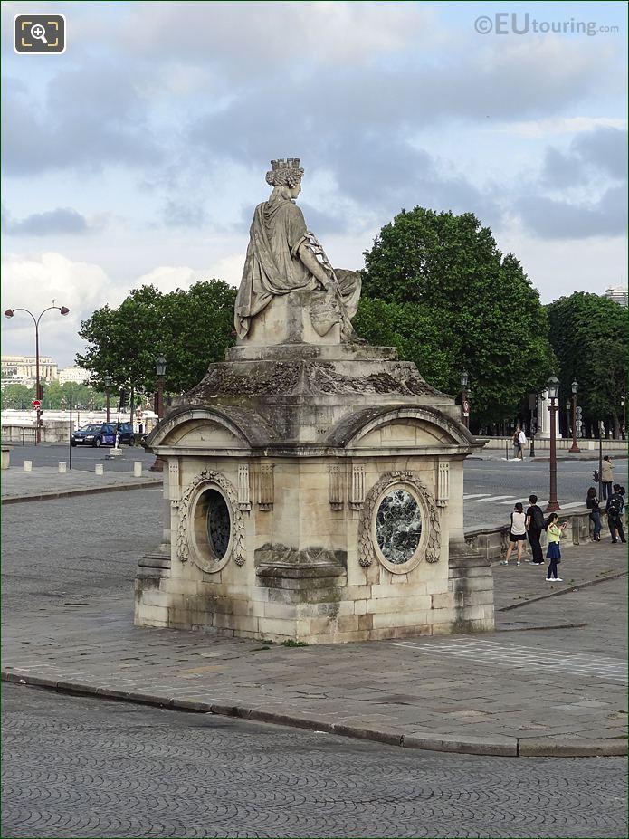 La Ville De Marseille Statue In Paris