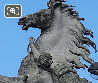Horse Of Marly Statue By Sculptor Guillaume Coustou