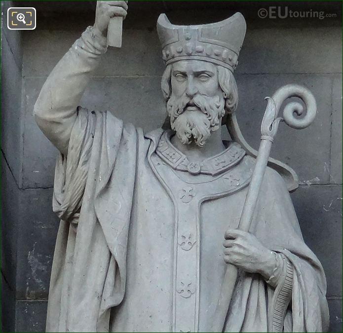 Saint Denis Statue By Jean Debay