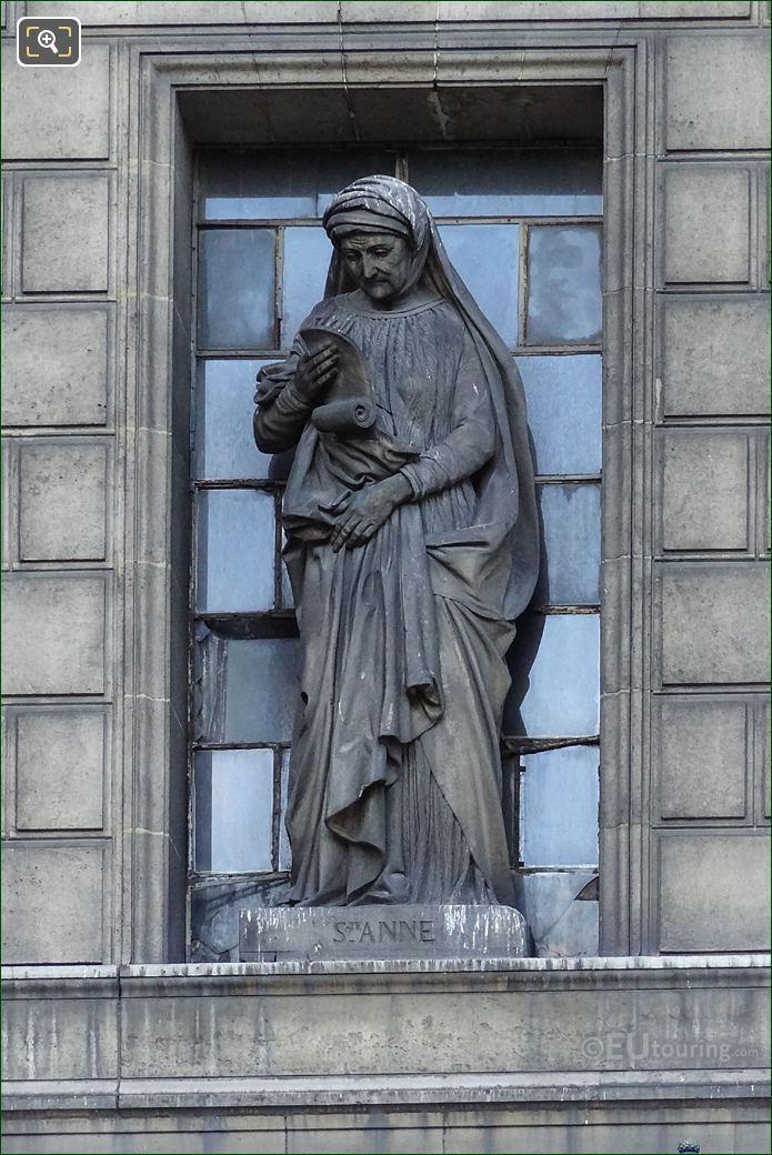 Sainte Anne Statue By Antoine Desboeufs