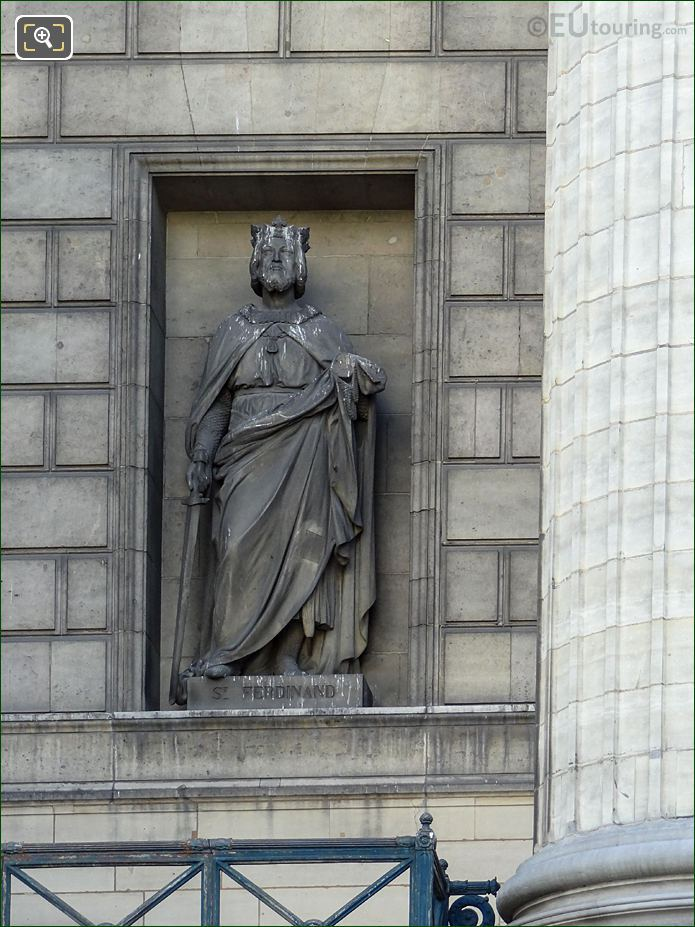 Saint Ferdinand Statue By Jean Louis Jaley