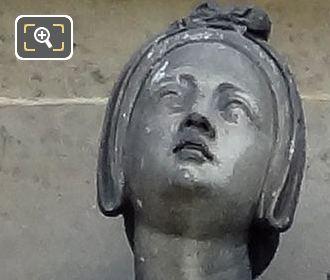 Saint Genevieve Statue By Auguste Hyacinthe Debay