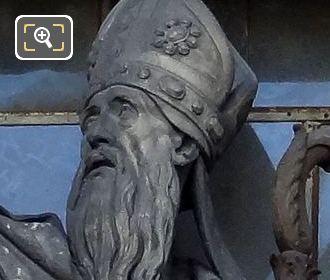 Saint Jean De Chrisostome Statue By Jean Francois Gechter