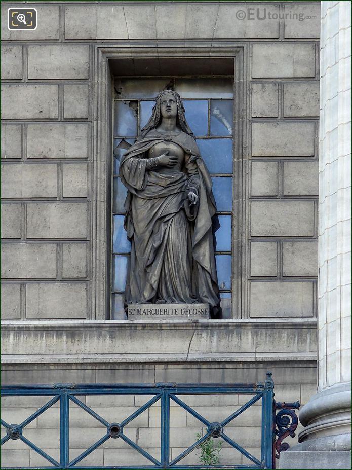 Saint Marguerite d'Ecosse Statue Eglise Madeleine