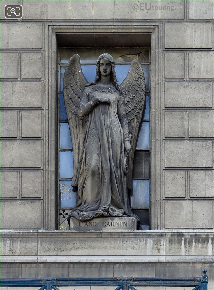 L'Ange Gardien Statue Eglise Madeleine