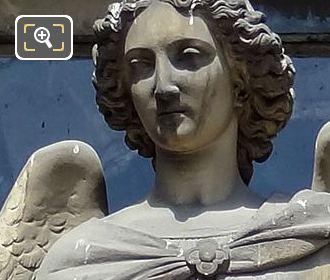 Saint Raphael Statue By Sculptor Antoine Laurent Danton