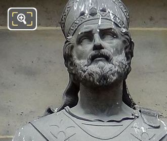Saint Martin Of Tours Statue By Sculptor Francois Alfred Grevenich