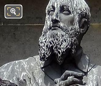 Saint Francois De Sales Statue By Sculptor Dominique Mahlknecht