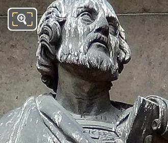 Saint Irenee Statue By Sculptor Julien Jean Gourdel