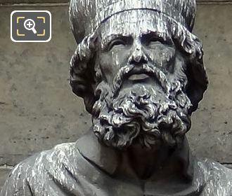 Saint Hilaire De Poitiers Statue By Jean Pierre Victor Huguenin
