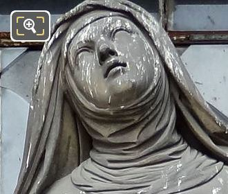 Saint Therese Statue By Sculptor Jean-Jacques Feuchere