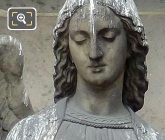 Saint Gabriel Statue By Sculptor Antoine Laurent Danton