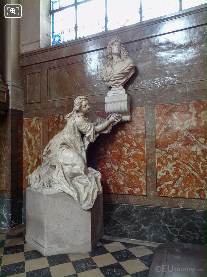 Pierre Mignard And Catherine Monument In Eglise Saint-Roch