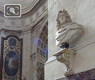 Chapelle Saint Vincent De Paul With Andre Le Notre Bust Statue