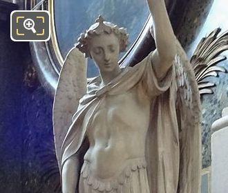 Chapelle Saint Vincent De Paul With Saint Michael Statue