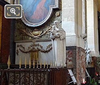 Chapelle De Saint Joseph With Saint Joseph Statue Holding Baby Jesus