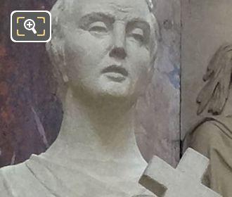 Saint Expedit Statue At Eglise Saint-Roch