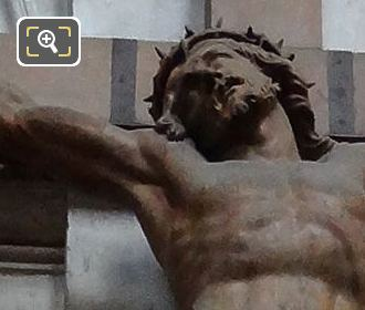 The Crucifixion Of Jesus Inside Eglise Saint-Roch