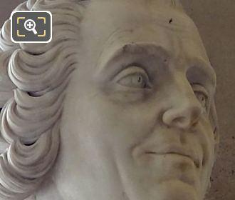 Pierre Carlet De Chamblain De Marivaux Bust By Artist Jean-Jacques Caffieri
